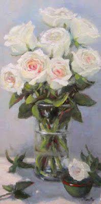 Pat Fiorello - Art Elevates Life: Birthday Roses  http://patfiorello.com/wedding_bouquet