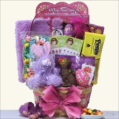 The Egg-streme Glamour Gift Basket is the ultimate way for any girl ages 6-9 to celebrate the Easter holiday.