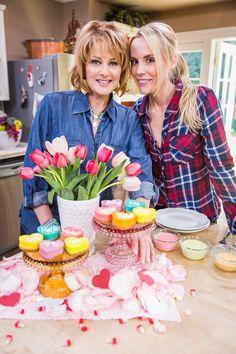 Conversation Cheesecake Hearts via Lilyshop Blog by Jessie Jane