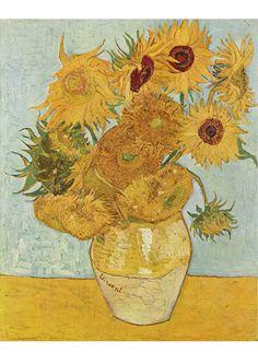 Downloadable Image: Van Gogh - Sunflowers