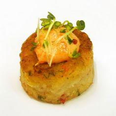 Mini Crab Cake with Lemon & Tarragon Aioli