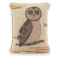 George Home Owl Cushion | Cushions | ASDA direct