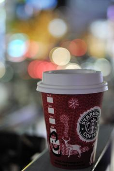 Starbucks...can't live without it..