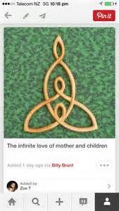 Celtic motherhood symbol
