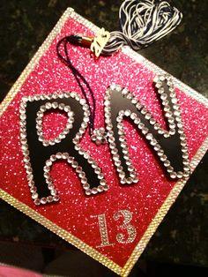 graduation cap! #RN #BSN #Grad #Nursing