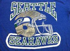 Vintage 70s SEAHAWKS Tshirt/ Original NFL by sweetVTGtshirt, $35.00