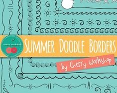 View Doodle Borders by CherryWorkshop2 on Etsy