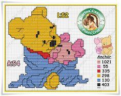 Pontinhos+Mágicos:+Gráficos+Disney+Ursinho+Pooh+e+amigos!