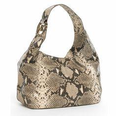 2e69adbe7b5 Michael Kors bags and Michael Kors handbags Michael Kors Fulton Large Hobo  Sand Python 110