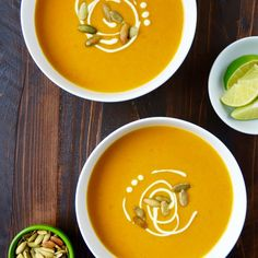 Add a twist to a comforting classic with Thai Coconut Pumpkin Soup!