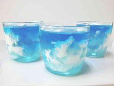 青空ゼリー&ふわふわ入道雲ギモーヴの画像