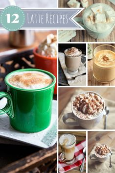 Top 12 Latte Recipes - A Spark of Creativity