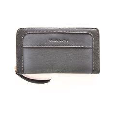Billetera larga para dama, línea Degrade en técnica espazolato. Zip Around Wallet, Kate Spade, Lady, Leather, Accessories