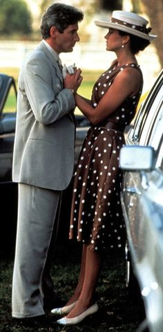 Pretty Woman, 1990 - Richard Gere and Julia Roberts, Costume Design by Marilyn Vance.