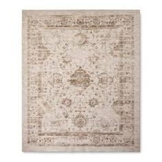 Add a vintage-modern touch to your décor with the Threshold Vintage Distressed Rug. Beautiful and durable, this rug will add lasting style to any room. The solid construction will stand up to heavy foot traffic, and the latex backing will prevent it from slipping.