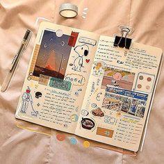 Bullet Journal Notes, Bullet Journal Aesthetic, Bullet Journal School, Bullet Journal Writing, Bullet Journal Ideas Pages, Bullet Journal Inspiration, Art Journal Pages, Photo Journal, Creative Journal