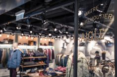 The relocation and redesign of the Aigle shop in the K11 art mall in Kowloon, Hong Kong also marks a new spin-off concept for the brand's retail experience.