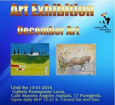 Art Exhibition  http://www.aia-artgroup.com/December-Art.pdf