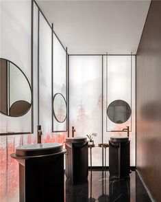 Washroom, Powder Room, Oversized Mirror, Toilet, Furniture, Public, Rest Room, Home Decor, Mall
