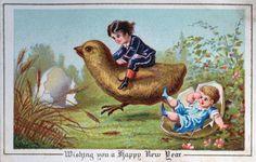 эти открытки полны викторианской символики, которая сегодня кажется довольно странной.