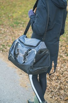 a1cb7d249e Our girl  Brooke  redfitnessmodels Pack all your gym gear in this water  repellant Under Armour Undeniable small duffel sports bag