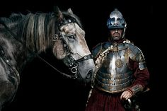 sexecutive-outcums:  Winged Hussar reenactors, from here