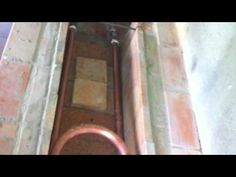 Fogão a lenha com serpentina - YouTube
