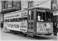 tranvia-medellin-colombia Cisneros, Vehicles, Royal Enfield, Metal, Medellin Colombia, Historical Photos, Latin America, Transportation, Fotografia