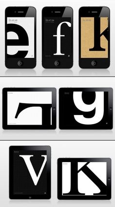 type clock app | blue ant studio