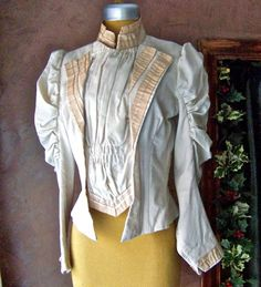 Antique Victorian Era Blouse by cynthiasattic on Etsy, $135.00