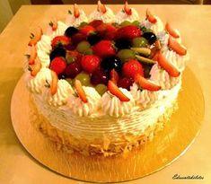 Reform Oroszkrém torta (cukor és lisztmentes) Cake Cookies, Cukor, Paleo, Low Carb, Birthday Cake, Sweets, Food, Gummi Candy, Birthday Cakes