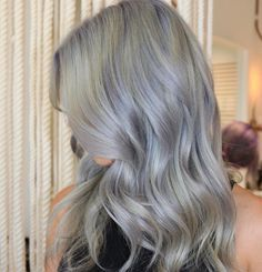 Metallic Hair - 4-6 weeks tone and then a treatment