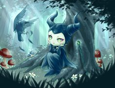 MALEFICENT by minland4099 on DeviantArt