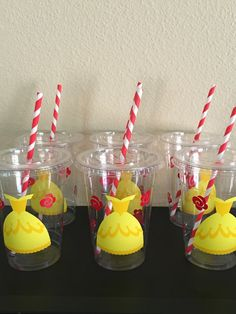 Beauty and the Beast Party Cups Belle Birthday Party Belle Party Favors Beauty and the Beast Party Supplies Belle Birthday Favors Beast Party Favors, Birthday Favors, 2nd Birthday Parties, Girl Birthday, Beauty And Beast Birthday, Beauty And The Beast Party, Disney Princess Birthday Party, Princess Party, Party Cups