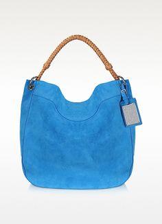 Ralph Lauren Bohemian - Bolso Hobo Azul
