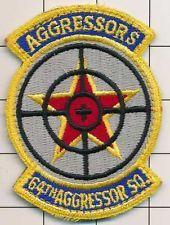 USAF PARCHE - 64a AGGRESSOR Sqdn DE VELCRO (F-5E ERA 1986)