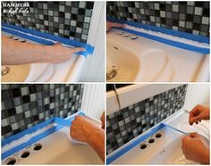 How to Get Perfectly Straight Caulk Lines, The *Easy* Way