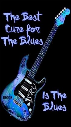 SRV❤️ Blues Is The Cure T-Shirt for Sale by WB Johnston