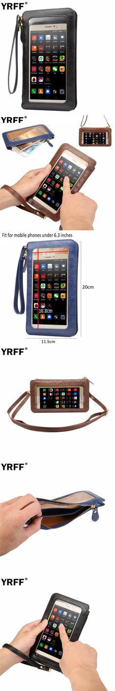 YRFF Luxury Wallet Phone Bag case For iPhone 7 6 6s Plus 5s 5 for Samsung Galaxy S8 s7 Edge S6 J5 for Xiaomi Mi5 Redmi Note 4 3