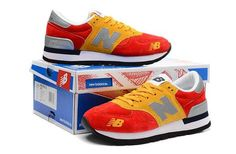 Men And Women New Balance 990 NB990 Shoes 990 Spain;Espana Flag Red Yellow|only US$75.00 - follow me to pick up couopons.
