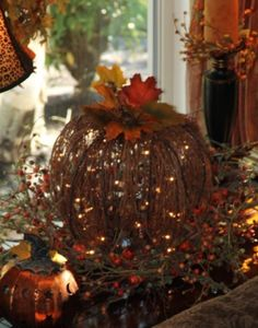 Beautiful fall decor