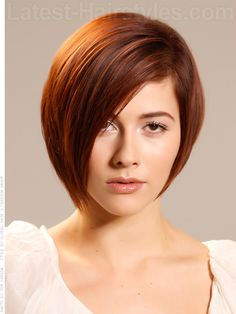 Rounded Texture Smooth Bob. I am waiting patiently for my hair to grow out to get this style.