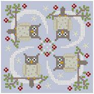 The Floss Box   Biscornu 654 Pdf pattern
