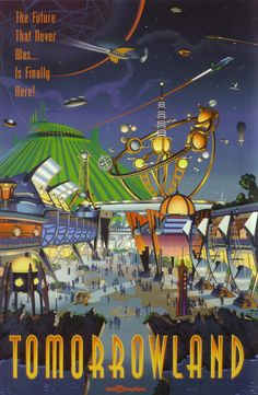 Tomorrowland Attraction Poster