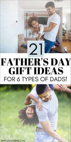 19 Father's day gift ideas for 6 types of dads | Father's day gift guide | Unique Father's day gifts to buy | Creative Father's day gift ideas #fathersday #giftguide #dad