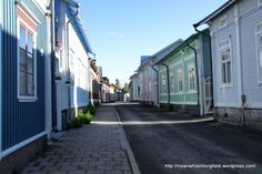 Vanha Rauma, Old Rauma Finland Wooden Buildings, Wooden Houses, Meanwhile In, Old Town, Nostalgia, Architecture, Travel, Finland, History