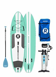Onyx Belt Pack Manual Inflatable Life Jacket for Stand Up Paddle Boarding, Kayaking and Fishing (Blue) Best Inflatable Paddle Board, Inflatable Sup, Stand Up Paddle Board, Sup Paddle Board, Sup Boards, Canoe And Kayak, Camping, Surfs Up, Paddle Boarding