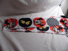Scarf Minnie Mouse Fleece Scarf #Handmade