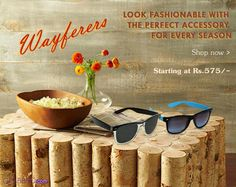 Wayferers | Look fashionable with the perfect accessory for every season.. SHOP NOW >> http://www.grabbito.com/men/sunglassess.html