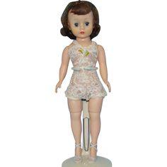 Cissette Fashion Doll in Chemise Brunette Triple Stitched Wig Madame Alexander